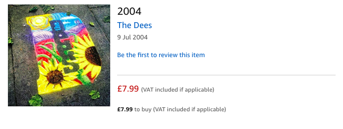 The Dees – 2004 – on Amazon Music